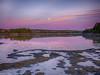 Kilkenny Cove Maine 2 (Dean OM) Tags: landscape moonrise color pink purple rockweed island maine me