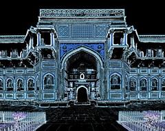 India - Uttar Pradesh - Agra - Agra Fort - Jahangiri Mahal - 4dd (asienman) Tags: india uttarpradesh agra agrafort jahangirmahal asienmanphotography asienmanphotoart