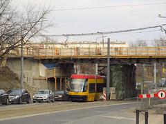 "Pesa 120Na ""Swing"", #3155, Tramwaje Warszawskie (transport131) Tags: tram tramwaj tw ztm warszawa wtp warsaw pesa 120na swing"