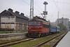 44 114 with passenger train 40101 Gorna Orqhovica - Stara Zagora, arrives at Stara Zagora - 05.04.2017 г. (DMKarev) Tags: bdz бдж стара загора station 40101