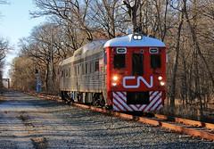 Rare Mileage (BravoDelta1999) Tags: canadiannational cn railway wisconsincentral wc railroad sooline soo waukeshasubdivision riverforest illinois budd rdc 1501 track geometry car