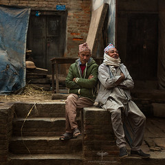 Asia / Nepal / Bhaktapur (Pablo A. Ferrari) Tags: pabloferrariart asia nepal kathmandu bhaktapur men man street calle urban city hombres nepali nepalese khwopa worldheritagesite unesco