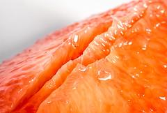 Stripped bare (LoomahPix) Tags: d750 flickr macromondays nikon citrus food fruit grapefruit macro macrophotography organic pink red