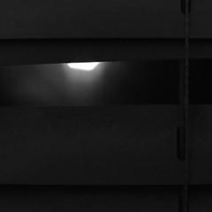 Creeper (andymudrak) Tags: 365 photography bw squareformat macro blinds creeper shadows bokeh