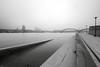 Hochwasser und Nebel 2 (Jörgenshaus) Tags: deutschland nrw rheinland köln rhein rheinboulevard hochwasser nebel lzb hohenzollernbrücke