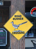 Road Runner Crossing (Jeffrey Sullivan) Tags: road runner crossing sign death valley national park california iphone 7 mobile phone cellphone camera images iphoneography usa apple photo copyright 2016 february jeff sullivan iphone7plus