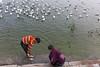 untitled (Prakash clicks) Tags: india travel birds seagulls children river varanasi canon beautifulindia indianphotography cwc chennaiweekendclickers
