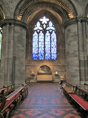 Ascension - Hereford Cathedral (pefkosmad) Tags: stainedglass window contemporary sas herefordcathedral herefordshire cathedral art sculpture specialairservice placeofworship england uk hallowedground holy church christianity churchofengland anglican modern johnmainera vitraux