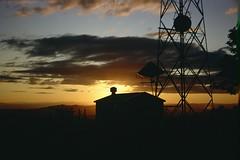 Mount Scott Sunset (PDX Flyer) Tags: sun mount scott portland oregon slide film analog sunset dusk evening olympus kodak mailer peaceful calm tranquil