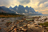 The Ramparts (deanhebert) Tags: mountains clouds storm jasper national park ramparts landscape nature outdoors backpacking