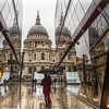 A wet day in London (Andy Colebrooke) Tags: cityoflondon st pauls cathedral rain reflections miserable weather