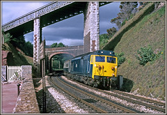 Teignmouth Tease (david.hayes77) Tags: 50003 teignmouth devon class50 1976 englishelectric seaside coast seawall summer