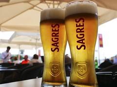 OrDeR (WaRMoezenierr.) Tags: terras holiday ferien beer bier cerveza gold goud oro sagres porto portugal taste smaak bebida