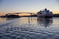 Ms Finnmarken (G E Nilsen) Tags: finnmarken hurtigruten coastal liner ship sunset norway nordnorge northernnorway