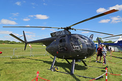 G-DIGS Hughes 369C Booker High Wycombe Aero Expo 03rd June 2017 (michael_hibbins) Tags: g gdigs hughes 369c booker high wycombe aero expo 03rd june 2017 aviation aircraft aeroplane aerospace airplane air aeroexpo civil private helicopter heli
