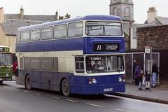 A1 SERVICE SDA562S (bobbyblack51) Tags: a1 service sda562s leyland fleetline mcw west midlands pte 6562 saltcoats 1995