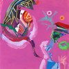 2012_slika_plexi_pogled_50x50cm_Peter_Ciuha (peter.ciuha) Tags: paintings acrylic glass plexi canvas peter ciuha hanji paper kozo tak illuminated