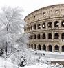 Winter in Rome (Michel van Kooten) Tags: rome winter snow sneeuw italy roma italie italia rom colosseo colosseum