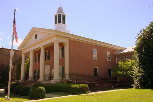 Shenandoah Co. Courthouse (modern) - Woodstock, VA