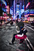 Asleep in Times Square (Jim Nix / Nomadic Pursuits) Tags: 28mmf2 bigapple jimnix luminar macphun nyc newyorkcity nomadicpursuits sony sony28mmf2 sonya7ii timessquare bum cityscape evening night sleeping sleepy travel vagrant
