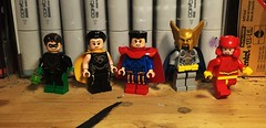 The Crime Syndicate (Lord Allo) Tags: lego dc justice league silver age crime syndicate power ring superwoman ultraman owlman johnny quick