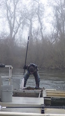 Cleaning Out a Fish Trap