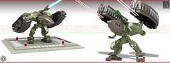 Heavy Mallard Lander 05 (messerneogeo) Tags: messerneogeo robot mech mecha lander heavy mallard lego