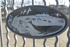Falkland Islands plaque
