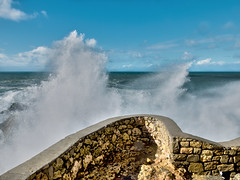 Water dance (carmine.piparo) Tags: water wave landscape landscapephotography travel nazare ocean atlantic waves