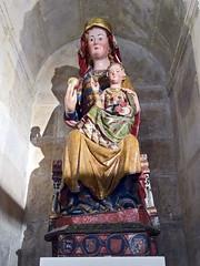 Catedral de Burgos Claustro Bajo arte gótico Virgen sedente estilo gotico s. XIII (Rafael Gomez - http://micamara.es) Tags: catedral de burgos claustro bajo arte gótico
