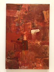 Untitled (red painting) 1954 (Igor Clark) Tags: sanfrancisco california sfmoma robertrauschenberg rauschenberg