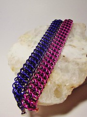 My Chainmail (coltsgardenspace) Tags: chainmail jewerly metal art craft hobby creation shiny pretty gorgeous steel photography