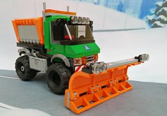 08IMG_20180217_144815 (maxims3) Tags: lego city 60083 snowplough truck снегоуборочная машина traffic обзор review