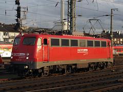BTE 110 491 (jvr440) Tags: trein train spoorwegen railways railroad eisenbahn münster hbf bte bahntouristikexpress br 110 bügelfalte