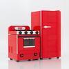 Retro Range, Refrigerator (powerpig) Tags: green lego fridge refrigerator stove oven range food turkey retro