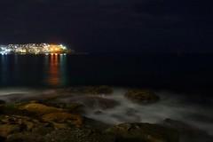 The light of north Bondi (Sam-Henri) Tags: australia sydney bondi northbondi bondibeach beach night dark longexposure sea water sony rx100 coast rocks
