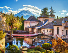Recent Faves - Fuji Village View (Stuck in Customs) Tags: japan mtfuji stuckincustomscom treyratcliff stuckincustoms mount mountain snow capped village pond reflection culture architecture autumn fall hasselblad x1d tree building sky fuji day