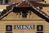 Malaga (hans pohl) Tags: espagne andalousie malaga fenêtres windows roofs toits signs panneau architecture façades