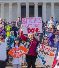 2018.01.20 #WomensMarchDC #WomensMarch2018 Washington, DC USA 2500