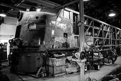 33C (dscharen) Tags: illinoisrailwaymuseum trains irm union illinois milwaukeeroad chicagomilwaukeestpaulpacific eunit e9 33c milw33c emd