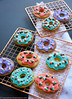 DSC_9063 (michtsang) Tags: cookies iced cookie decoration royalicing icing watermelon donuts sprinkles
