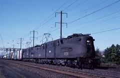 CONRAIL GG1 4824+4855 Doubleheader freight (lf14515) Tags: prr gg1 conrail freight