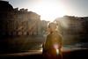 Paris, lumière sur les quais de Seine (Calinore) Tags: france paris city ville seine river fleuve woman femme light backlight lumière contrejour waiting dreaming reve reveuse attente architecture