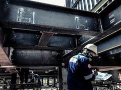 Welders (Michel-Michel) Tags: work steel industry worker welder
