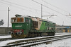DE520.04 FM (Massimo Minervini) Tags: de520 de52004fm db neve trains diesel cavatigozzi ferrovia dbci snow manovra locomotiva cremona canon400d bahn winter flickr explorer green white