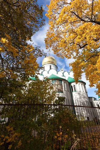 Feodorovsky Gosudarev Cathedral. Autumn.
