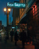 (el zopilote) Tags: 500 portland oregon street cityscape architecture people neon signs night canon eos xsi 450d canonef2255mmf456usm