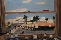 Palm Trailer Park (jHc__johart) Tags: painting art artwork trailer trailerpark palmtree desktop window