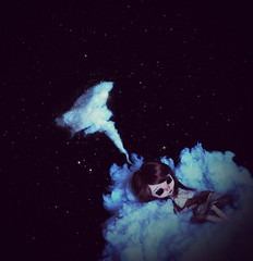 Art (Zorha Nightwood) Tags: doll jun planning groove obitsu monique wig eyes custo blythe outfit cloud photoshop olympus asian fullcusto fullcustom merl pullip