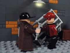 Dealing in the Streets (-Metarix-) Tags: lego super hero villain red arrow roy harper green drug addict dc comics comic dealing drugs